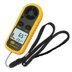 デジタル風速計 簡単・手軽 温度計搭載 軽量コンパクト ポケットアネモメーター(風速計&温度計) ht70