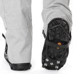 靴用滑り止め 簡単装着 ワンタッチ  雪道 凍結 靴  安全歩行 軽アイゼン  ビジネスシューズにも装着可能  sdml