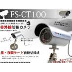 防水デザイン 赤外線LED 夜間監視 ビデオ&音声入力 CCTV防犯カメラ 防水屋外式 CCTVカメラ CT100