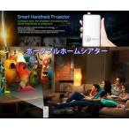 ポータブルLEDプロジェクター Android4.4 WiFi 100ルーメン 854×480 タブレット / スマホ / PC対応 M60