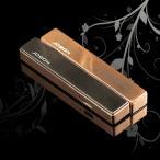 電子ライター USB充電 防風 ターボライター タバコグッズ 高級感 ギフト プレゼント ブラックorゴールド ZB679