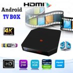 H.264 4K�ƥ���б� Android TV box 2GB 8GB Bluetooth4.0 4K 60fps 4����CPU Wi-Fi/LAN�б� ���ץ��������ɲ� TMDRK4