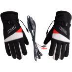 ヒーター付グローブ  ホットグローブ 手袋 バイク用 12V直結 防寒 電熱 あったか 原付・バイク DC12V ホットグローブブラック BHOTG12V