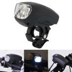 自転車用LEDライト 高輝度LED5灯で強力に点灯 防水仕様 乾電池式 点灯モード3種類 取付け簡単 夜間の走行を安全に 長時間使用 XC7615W