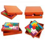 木製パズル 木のおもちゃ 知育 大人も楽しめる 木箱付