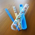 ショッピングトーマス 138 きかんしゃトーマス 引フタはし箱+ 竹安全箸 セット メール便 送料無料