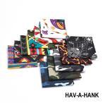まとめ買いクーポンあり HAV-A-HANK サウスウエスタン カモフラージュ スカル バンダナ アメリカ製  ハバハンク  BANDANA MADE IN USA FUNNY ファニー
