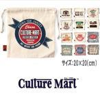 メール便可 Culture Mart/カルチャーマート/ミニ巾着バッグ 100991 巾着袋 ポーチ 小物入れ アメカジ