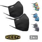 メール便¥198選択可 セール KEEN キーン トゥギャザーマスク 2枚セット M/L(大人用サイズ) 102526 洗えるマスク アウトドア