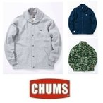 セール CHUMS Shawl Jacket チャムス ショールジャケット CH00-1186 メンズ スウェット カーディガン トレーナー 裏起毛 スナップジャケット