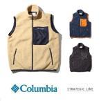 Columbia コロンビア シュガードームベスト PM1615 メンズ フリースベスト ボアベスト 防寒 保温 アウトドア チョッキ