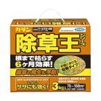 (まとめ) フマキラー カダン除草王 オールキラー粒剤 3kg 1本 〔×2セット〕