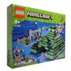 レゴ LEGO マインクラフト 海底遺跡 21136
