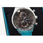 SEIKO WIRED セイコー ワイアード AGAV109 ニュースタンダード クロノグラフ 腕時計 メンズ 黒/銀 【中古】