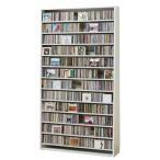 ショップのように飾りながらCDを1284枚収納できる薄型ラック。