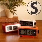 時計「BRUNO」LCDレトロアラームクロック(Sサイズ)【時計 置時計 目覚まし時計 アラーム 液晶 インテリア 雑貨 置き時計 デジタル プレゼント ギフト】