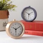 時計「BRUNO(ブルーノ)」メタルアラームクロック【目覚まし時計 置時計 アナログ 電子音 スヌーズ バックライト モダン シンプル おしゃれ 新生活 ギフト】