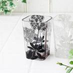 植物柄 花柄 ギフト プレゼント 白 茶 クリア ブラウン シンプル