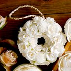 おしゃれでかわいいルームフレグランス「Sola Flower(ソラフラワー)」リース 母の日やブライダルのギフトとして【ポプリ 芳香剤 アロマ デュフューザー 薔薇】