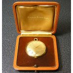 ジラールペルゴの箱付きアンティーク懐中時計