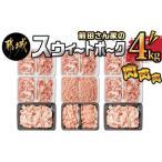 ふるさと納税 「前田さん家のスウィートポーク」肉肉肉4kgセット_MJ-8913 宮崎県都城市