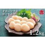 ふるさと納税 12-11 オホーツク産大粒ホタテ(1.2kg) 北海道紋別市