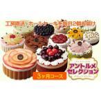 ふるさと納税 【定期便】毎月ケーキが届く!アントルメセレクション 3ヶ月コース 愛知県春日井市