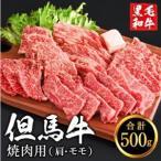 ふるさと納税 010AA05N.但馬牛経産牛 焼肉用(肩・モモ)500g 兵庫県市川町