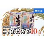 ふるさと納税 A03-056 【令和3年産米】特別栽培米はえぬき無洗米10kg(5kg×2) 山形県鶴岡市