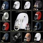FleurUneffe フルールアンフェ  オートロック ベルト メンズ 本革 レザー ゴルフ カジュアル ビジネス スーツ FU-4666  白 sdesign