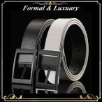 メンズ ベルト 白 黒 パンチング デザイン シンプル おしゃれ ビジネス カジュアル  PU レザー 革 ゴルフ