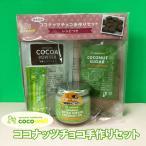 ココウェル ココナッツチョコ手作りセット 有機カカオパウダー 有機ココナッツオイル 有機ココナッツシュガー レシピ付き オーガニック 手軽に作れるチョコ