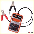 SOLAR BA5 12VバッテリーデジタルCCAテスター (国内正規品/日本語説明書付き/1年保証付き)