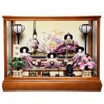 【ひな人形】【ひなケース】芥子親王柳官女遊神作【オルゴール付ケース】【雛人形】【ひな人形】