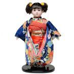 13号市松人形:綸子衣装【カール】:翠華作