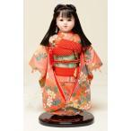 【ひな人形】【市松人形】市松人形13号市松人形:桜柄綸子衣装(大正ロマン):公司作【木目込市松人形】【浮世人形】