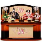 【雛人形収納飾】京三五親王飾:さくら雛:平安翠泉作【雛人形】【親王飾】
