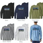 パタゴニア Patagonia Tシャツ  P-6 レスポンシビリティー ロゴ ロンT 長袖 取り寄せ