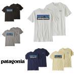 パタゴニア Patagonia Tシャツ メンズ P-6ロゴ オーガニック 取り寄せ