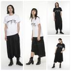 Yohji Yamamoto ヨウジヤマモト Tシャツ 逆さYY ロゴTシャツ メンズ レディース 取り寄せ