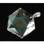 水晶六芒星(ヘキサゴン)・B・チョーカーペンダント・40cm
