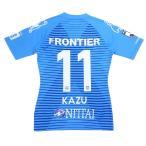 横浜FC 2020 オーセンティックユニフォーム NO11 KAZU 三浦知良 キングカズ サッカージャンキー YSJ2000157 サッカー Jリーグ画像