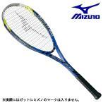 ミズノ MIZUNO 軟式 ソフトテニス ラケット テクニクス 200 63JTN77527 ブルー 初心者 張上げ済