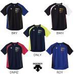 デサント descente メンズ バレーボールウェア  半袖プラクティスシャツ DVB5726