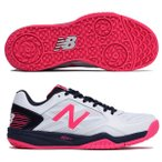 ニューバランス NewBalance  TENNIS ALL COURT WC100WP1D WHITE NAVY 24.5cm