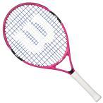 ウィルソン wilson バーン ピンク 23 WRT218100 硬式 テニスラケット ジュニア キッズ ガット張上げ済