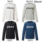 2017年秋冬NEW アスレタ ATHLETA プラクティスロンT 03297 サッカー フットサル 長袖Tシャツ メンズ