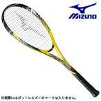 ミズノ MIZUNO 軟式 ソフトテニス ラケット テクニクス 200 63JTN77545 イエロー 初心者 張上げ済