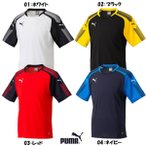 プーマ puma メンズ サッカー 半袖プラクティスシャツ ASCENSION SS トレーニング TEE Tシャツ 655268