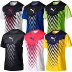 プーマ puma メンズ サッカー 半袖プラクティスシャツ FTBLTRG グラフィック SS トレーニング TEE Tシャツ 655385